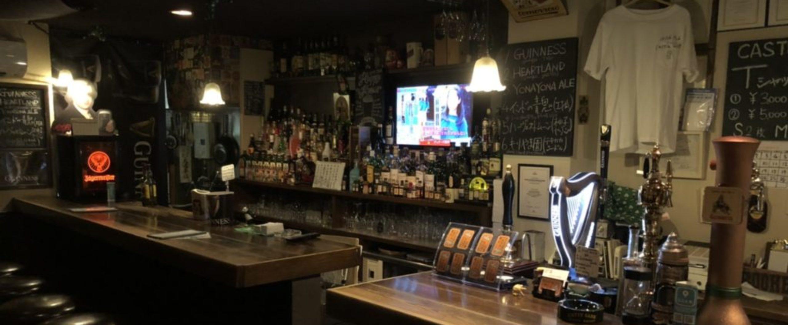 GREAT GUINNESS & GOOD FOOD 最高のビールと日本一のギネスを目指してここ木屋町でOPEN